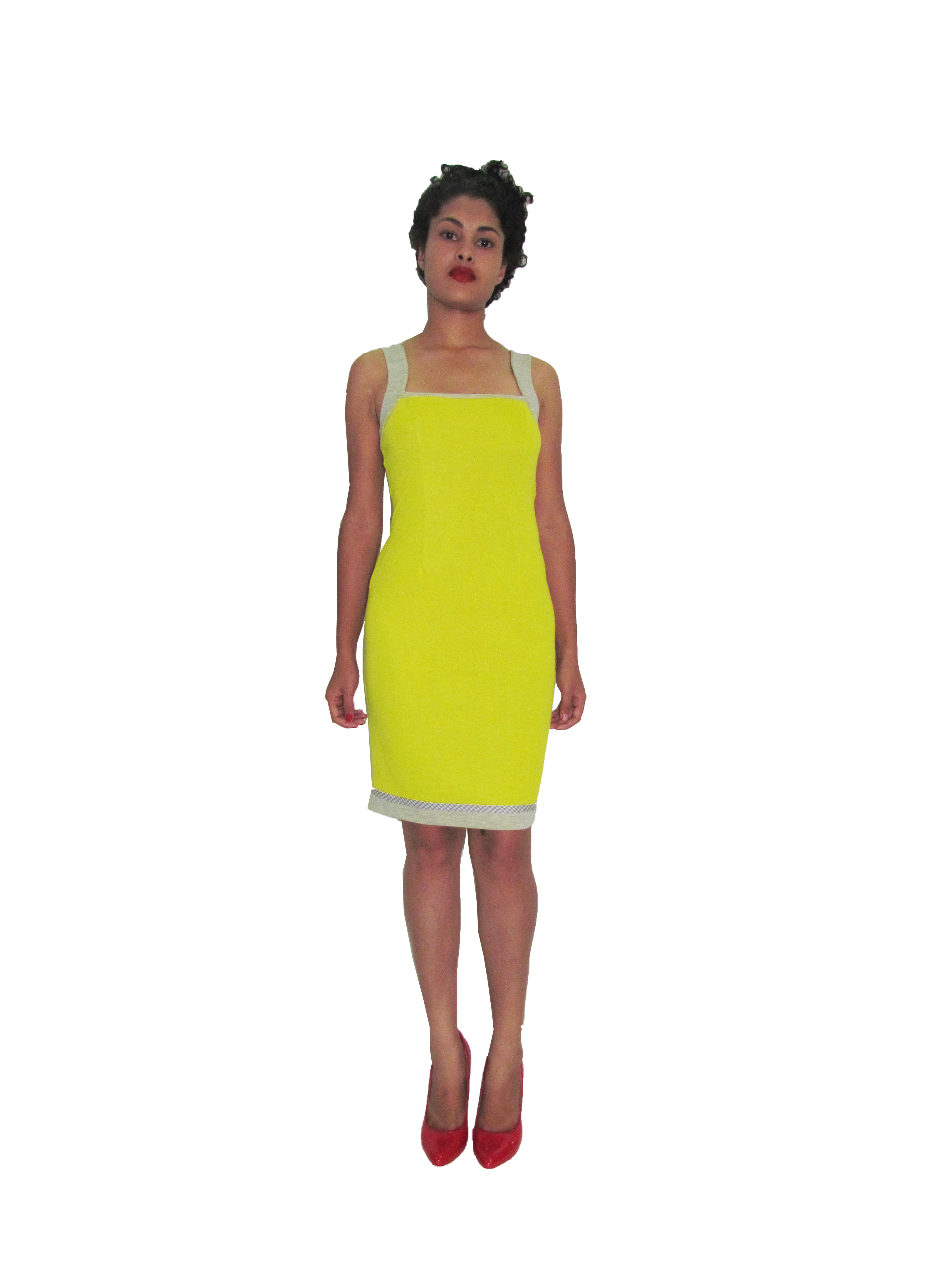 SP 1709 - Fitted Dress