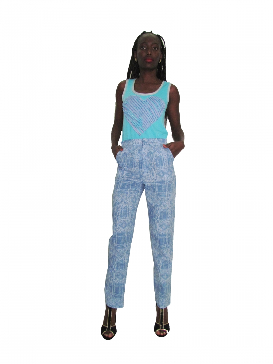 SP 1745 Heart Tank Top | SP 1746 Strainght Legged Pants